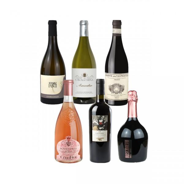 """Weinprobe-Paket """"Degustazione Festiva"""""""