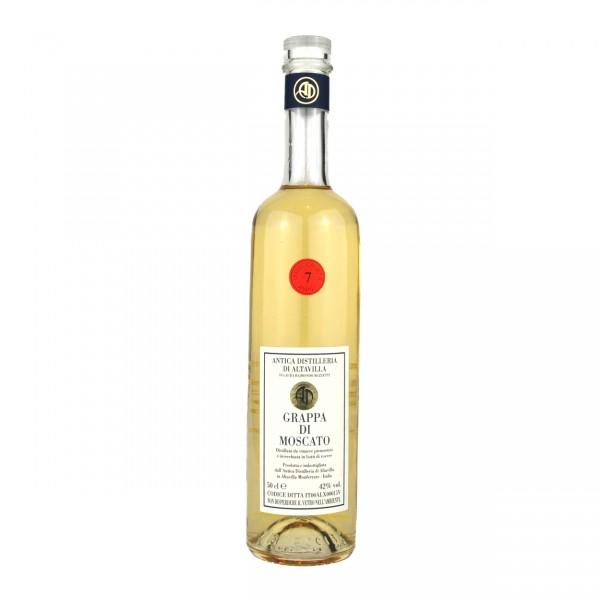 Grappa di Moscato - 0,5 lt. | Antica Distilleria di Altavilla