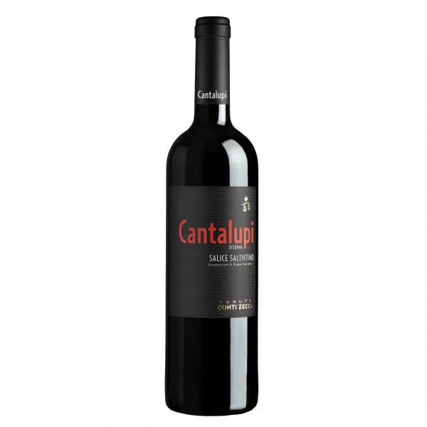 Cantalupi Salice Salentino Riserva DOP 2016 | Conti Zecca