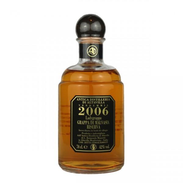Grappa Malvasia Riserva - 0,7 lt. | Antica Distilleria di Altavilla