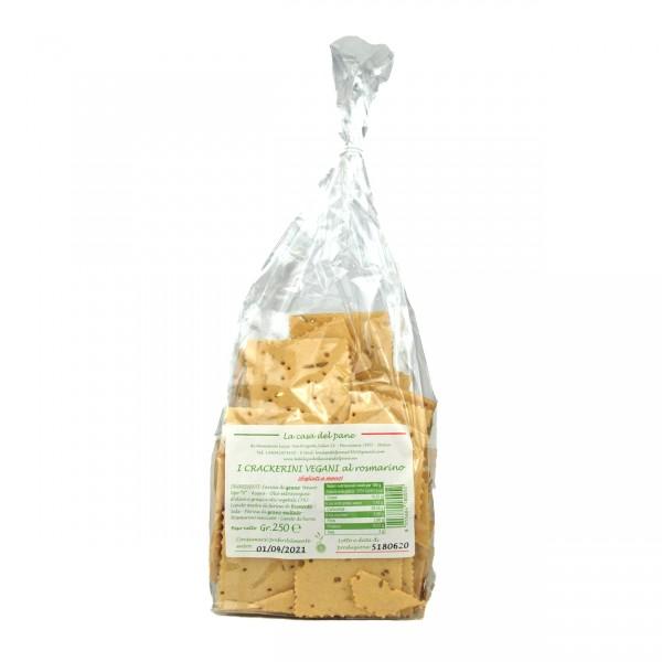 Crackers Rosmarino | La casa del Pane 250 g