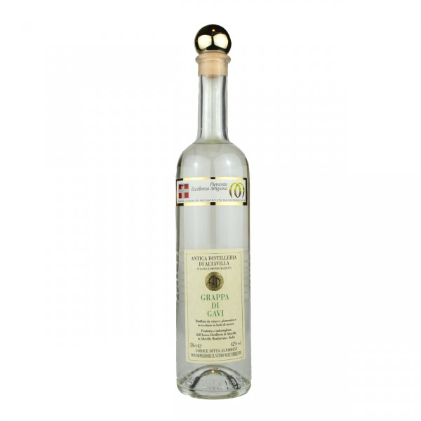 Grappa di Gavi - 0,5 lt. | Antica Distilleria di Altavilla
