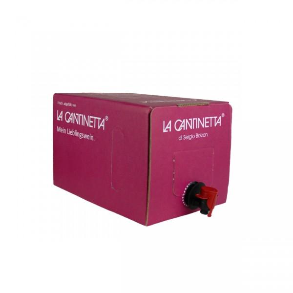 Rosso Bio (DE-ÖKO-006) - 5 Liter Bag-in-Box | La Cantinetta di Sergio Bolzan