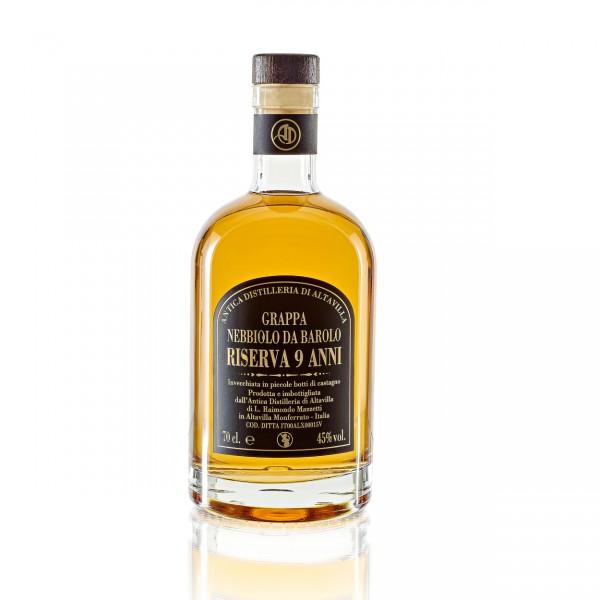 Grappa Nebbiolo Riserva - 0,7 lt. | Antica Distilleria di Altavilla