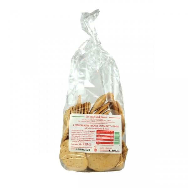 Crackers Olio di Oliva | La casa del Pane 250 g