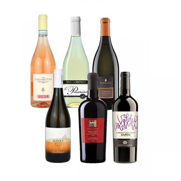 """Weinprobe-Paket """"Piccola Degustazione"""""""